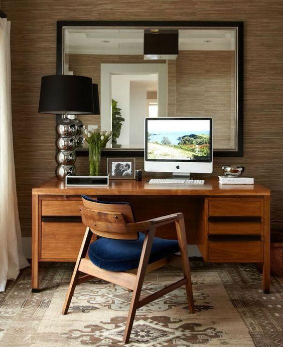 Elegant Mid Century Modern Desk Ideas