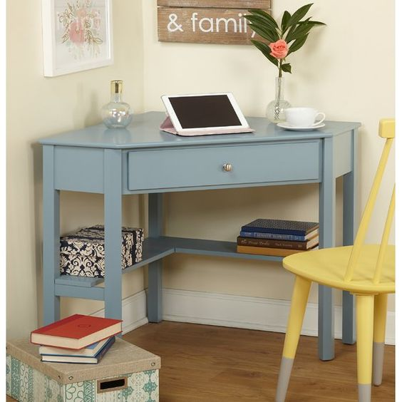 Farmhouse DIY Corner Desk Ideas