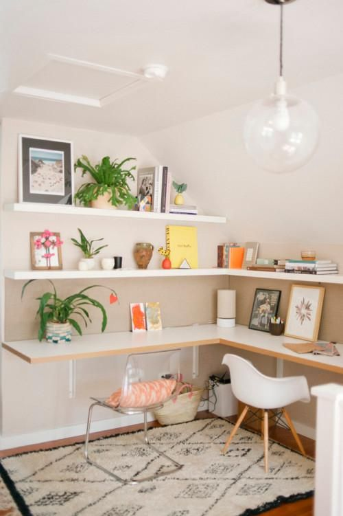 Floating DIY Corner Desk Ideas