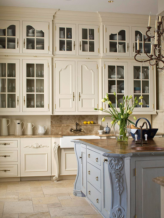 French Classic Kitchen Cabinets