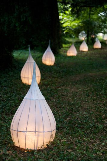 Garden Lampion DIY Light Ideas