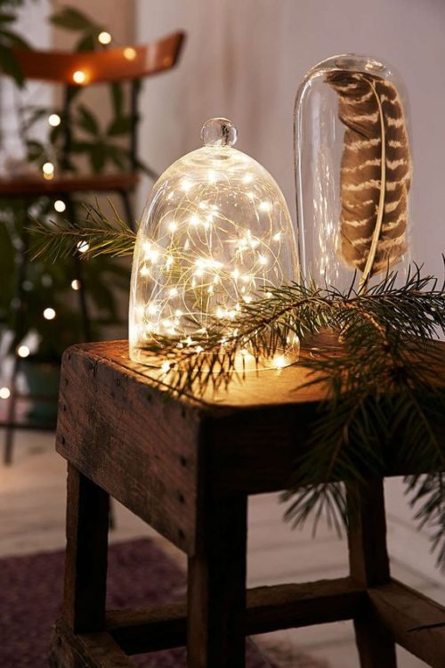Glass Bell DIY String Light