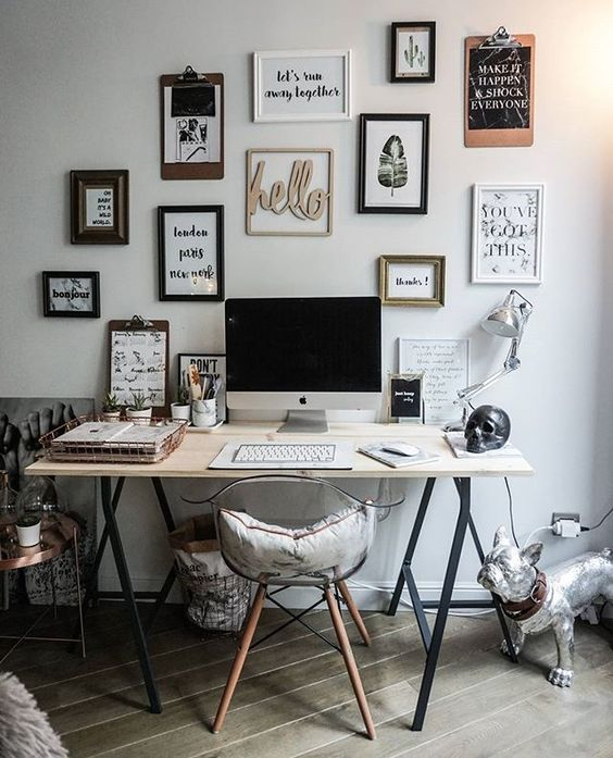 Industrial Modern Desk Ideas