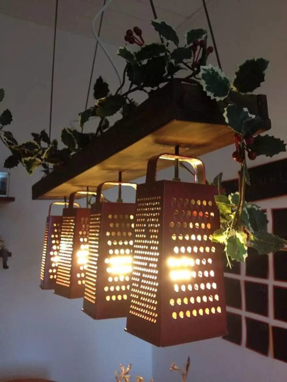 Kitchenware DIY Light Ideas
