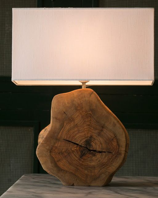 Log Wood DIY Light Ideas