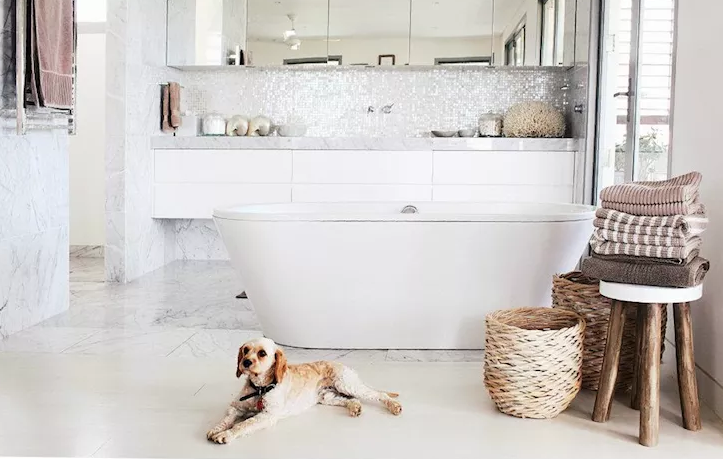 Luxury Farmhouse Bathroom