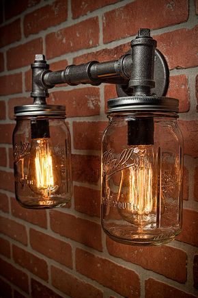 Mason Jar DIY Light Ideas