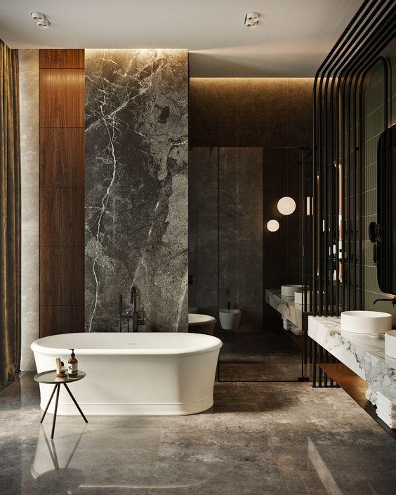 Mediterranean Luxury Bathroom