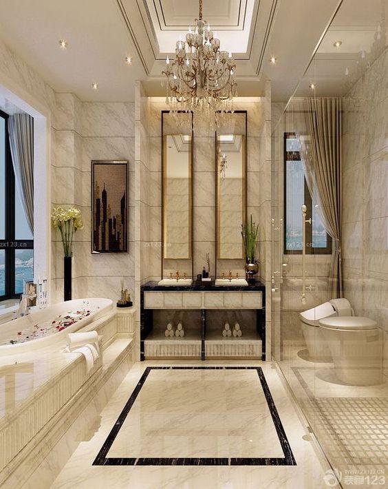 Mid Century Luxury Bathroom