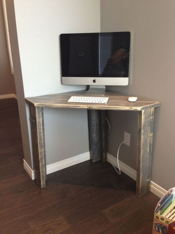 Mini DIY Corner Desk Ideas