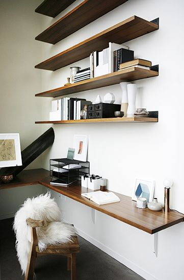 Minimalist Floating DIY Corner Desk Ideas
