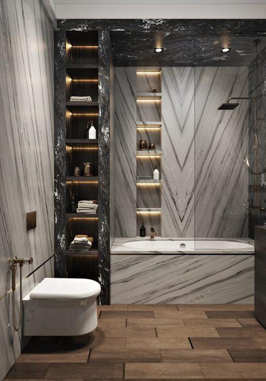 Minimalist Luxury Bathroom