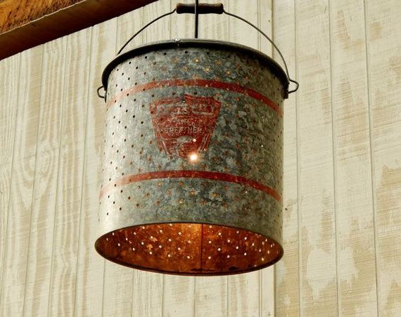Minnow Bucket DIY Light Ideas