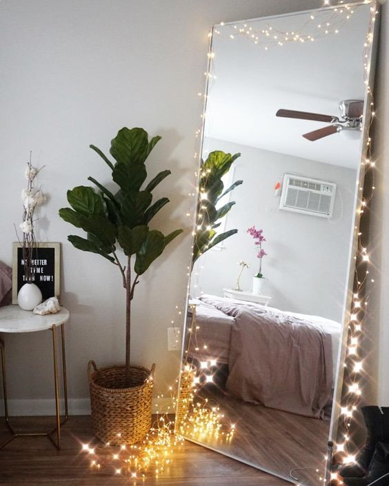 Mirror DIY String Light