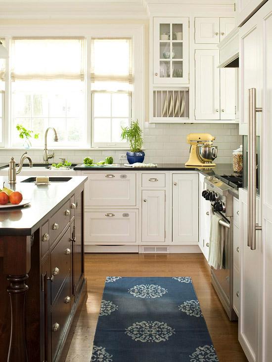 Modern Vintage Kitchen Cabinets