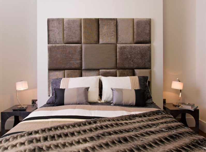 Mosaic Foam Headboard