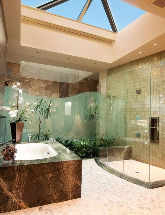 Natural Luxury Bathroom