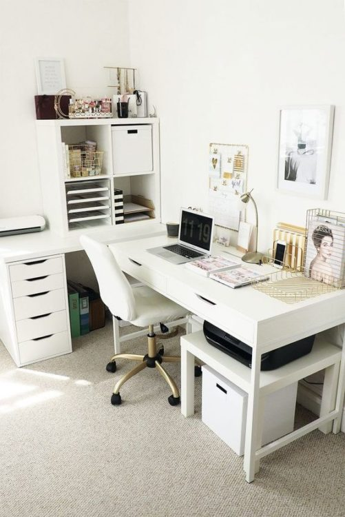 Office Space DIY Corner Desk Ideas
