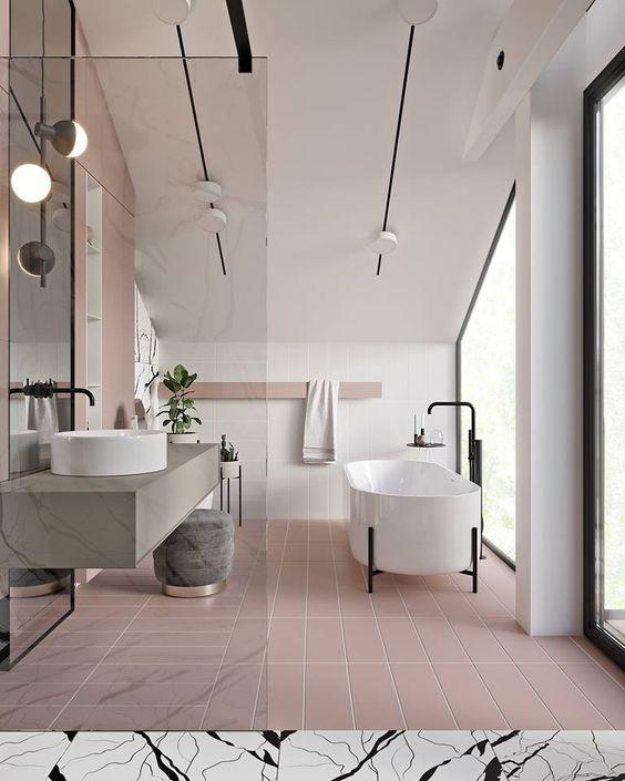 Pink Luxury Bathroom