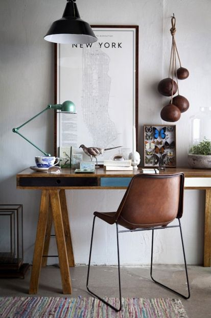 Retro Modern Desk Ideas