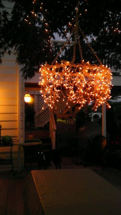 Romantic Outdoor DIY String Light