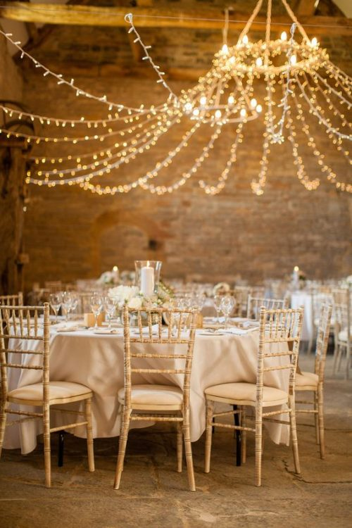 Rustic Chic Wedding DIY String Light