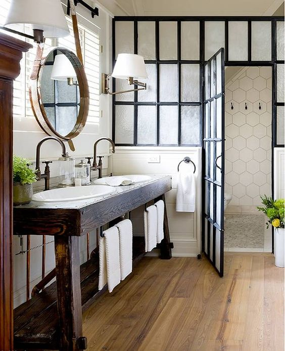 Savor Farmhouse Bathroom