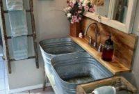 Simple Farmhouse Bathrooms