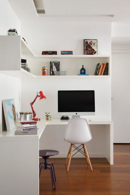 Small Apartment DIY Corner Desk Ideas