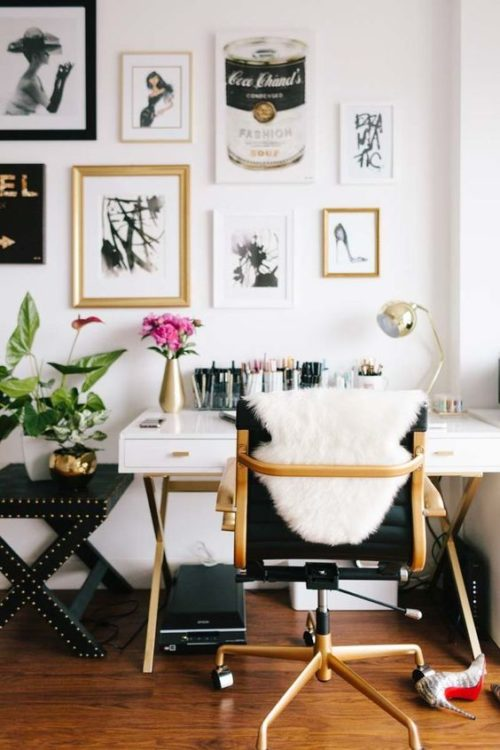 Small Apartment Modern Desk Ideas