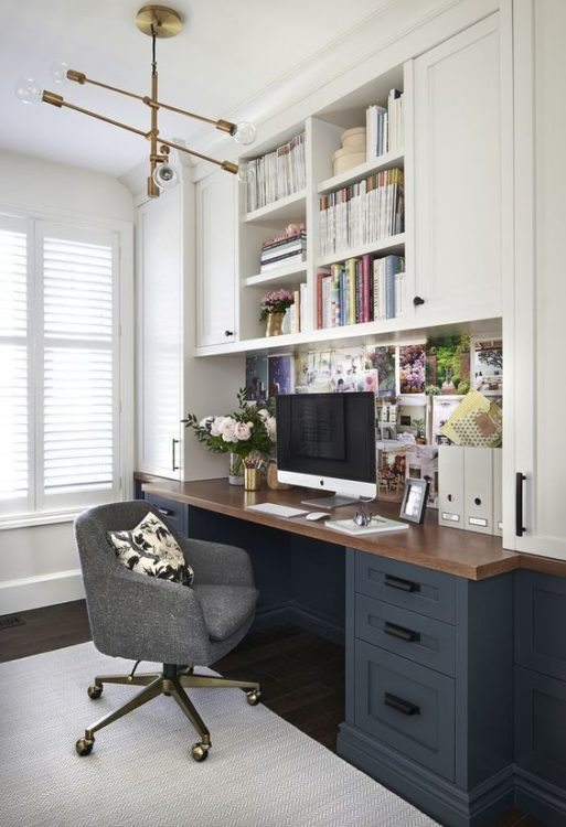 Small Office Modern Desk Ideas