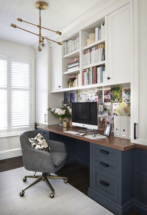 Small Office Modern Desk Ideas