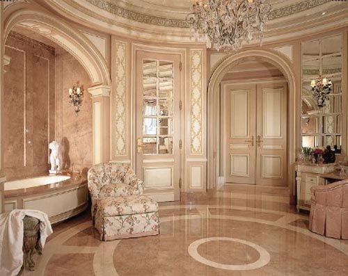 Soft Pink Luxury Bathroom