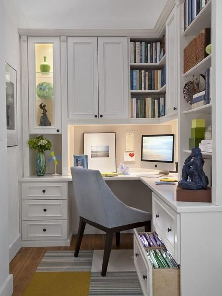 Space Saver DIY Corner Desk Ideas