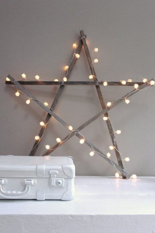Star Sign DIY String Light