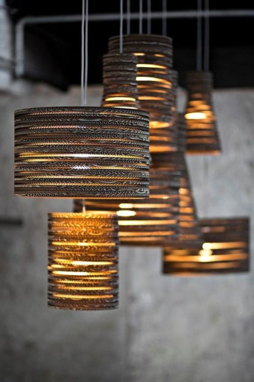 Steel Rod DIY Light Ideas