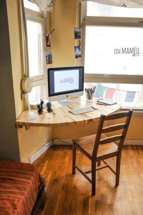 Super Minimalist DIY Corner Desk Ideas