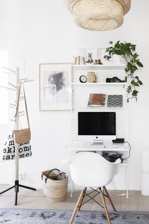 Tiny But Cozy Modern Desk Ideas