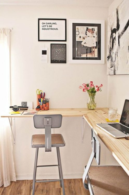 Traditional DIY Corner Desk Ideas