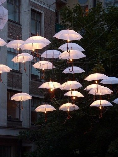 Umbrella DIY Light Ideas