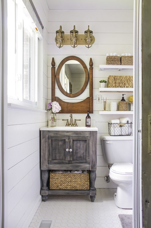 Vanity Farmhouse Bathroom