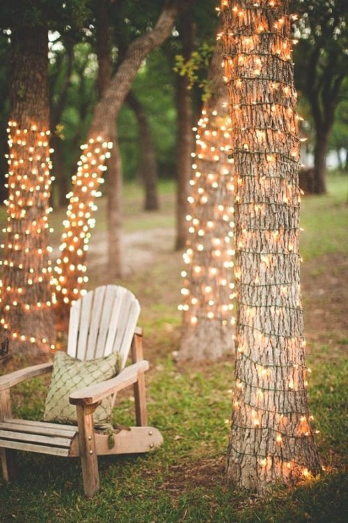 Vertical Trees DIY String Light
