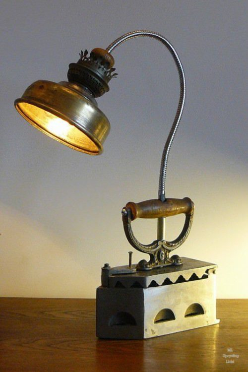 Vintage Iron DIY Light Ideas