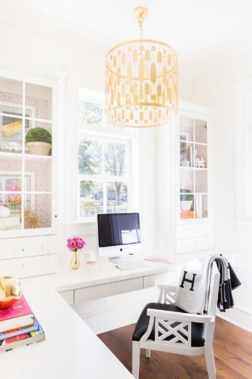 Wall Mounted DIY Corner Desk Ideas
