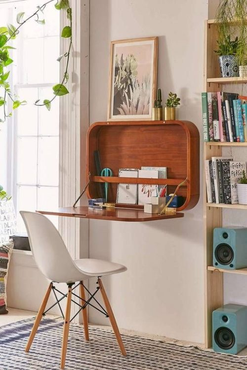 Wall Mounted Modern Desk Ideas