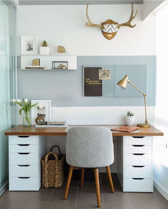 Well Organized Modern Desk Ideas