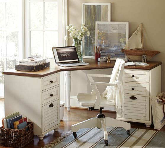 Whitney DIY Corner Desk Ideas