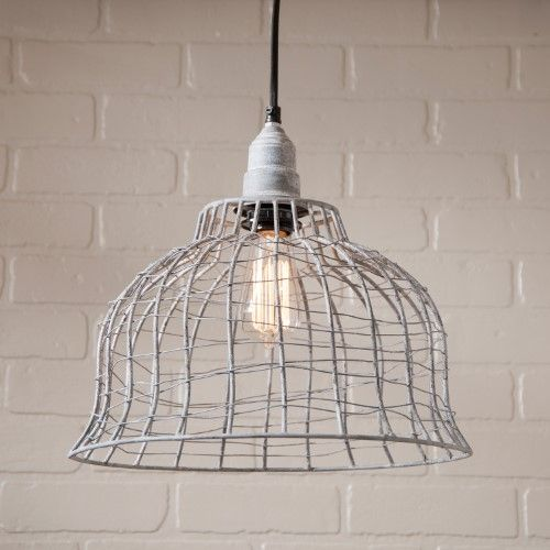 Wire Cage DIY Light Ideas