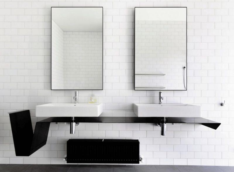 double minimalistic mirrors