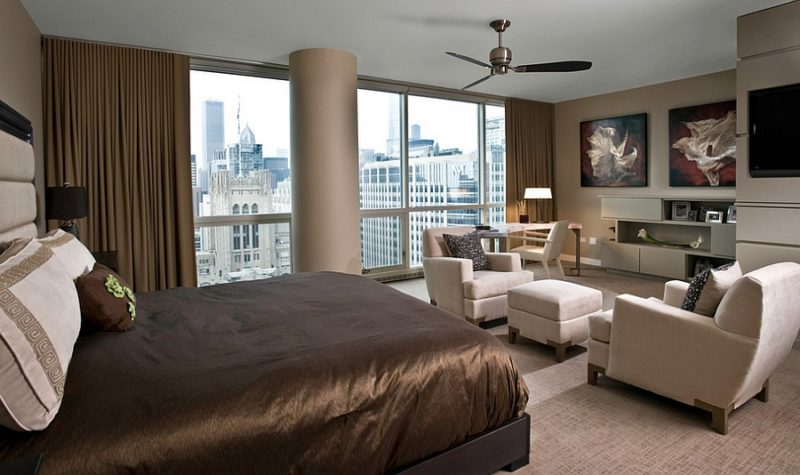 Luxury Bedroom Office Combo